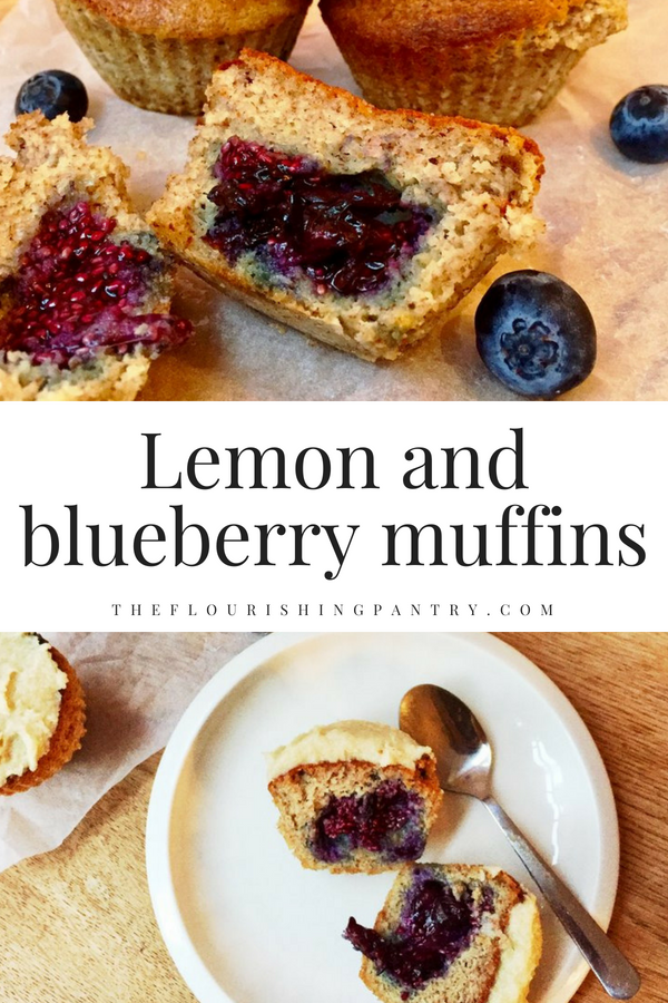 Lemon and blueberry muffins | The Flourishing Pantry.png