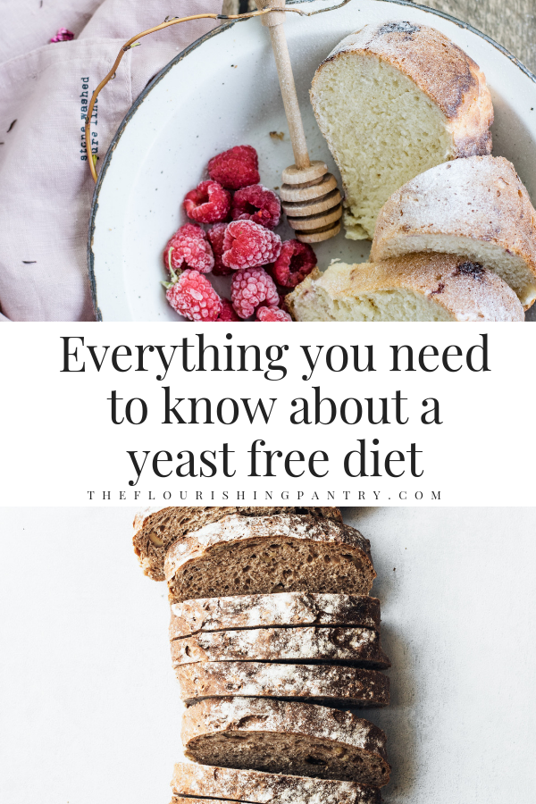 Everything you need to know about a yeast free diet | The Flourishing Pantry.png