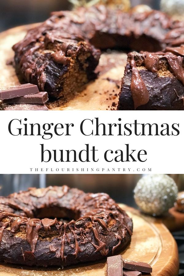 PINTEREST | Ginger Christmas bundt cake | The Flourishing Pantry.png