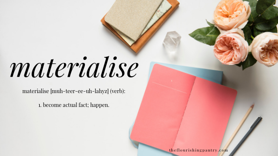 materialise | Coaching for wellness entrepreneurs | The Flourishing Pantry
