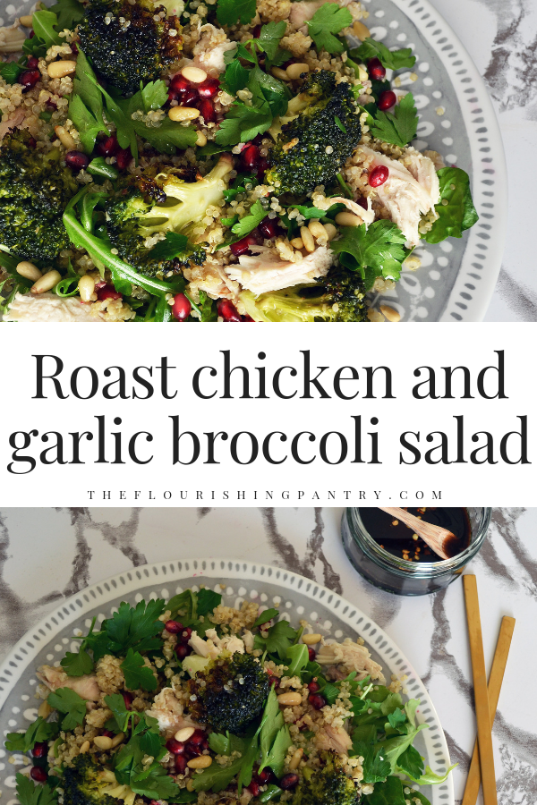 PINTEREST | Roast chicken and broccoli salad | The Flourishing Pantry-2.png