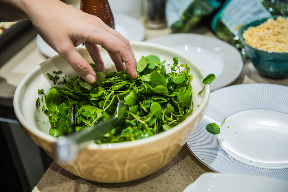 Watercress from    Abel & Cole   . Photo by Donna Ford    Skirtingboards & Chandeliers