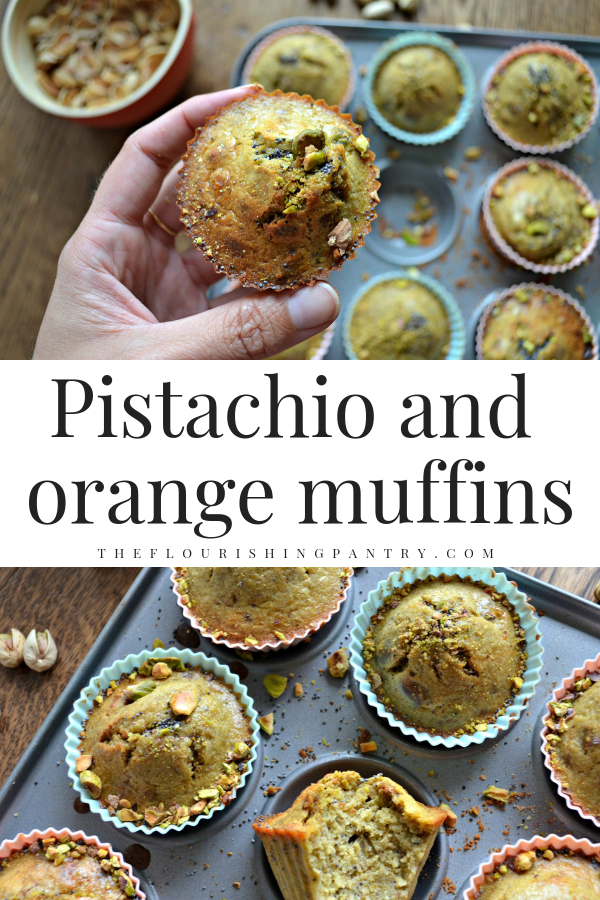 PINTEREST | Pistachio and orange muffins | The Flourishing Pantry.png