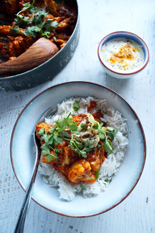 Cauliflower curry recipe | The Flourishing Pantry