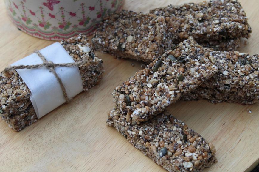 Granola bars   The Flourishing Pantry