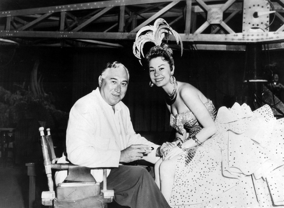 Director-Walter-Lang-and-Mitzi-Gaynor-on-the-set-of-Theres-No-Business-Like-Show-Business-1954.jpg