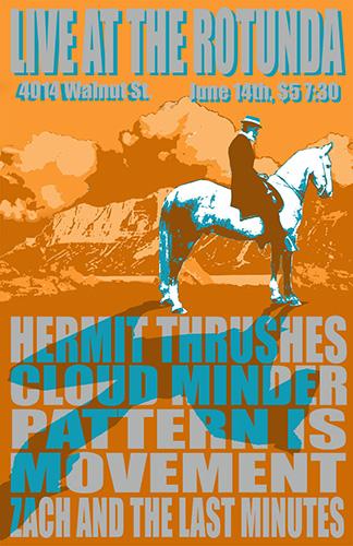 Cloud Minder show poster at The Rotunda
