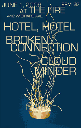 Cloud Minder show poster at The Fire