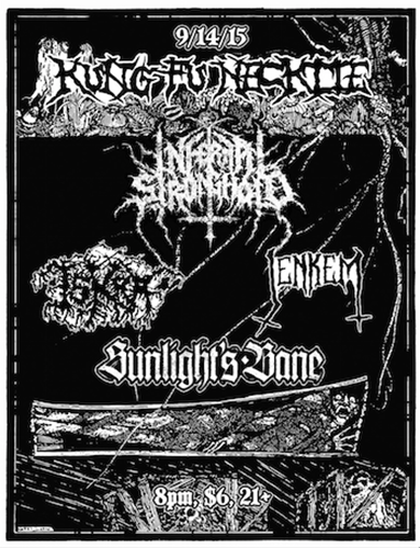 Riff Lifter Touring show at Kung Fu Necktie