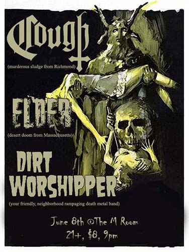 DW show poster at M Room