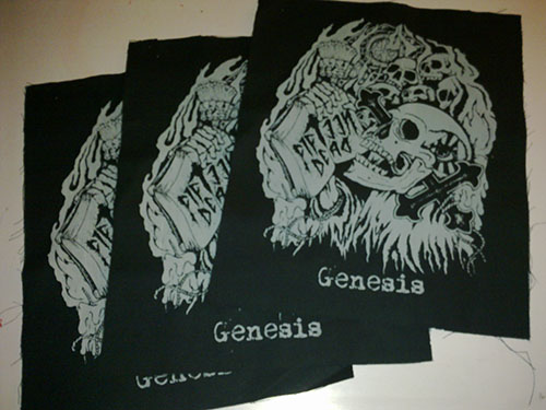 Fifteen Dead back Patches