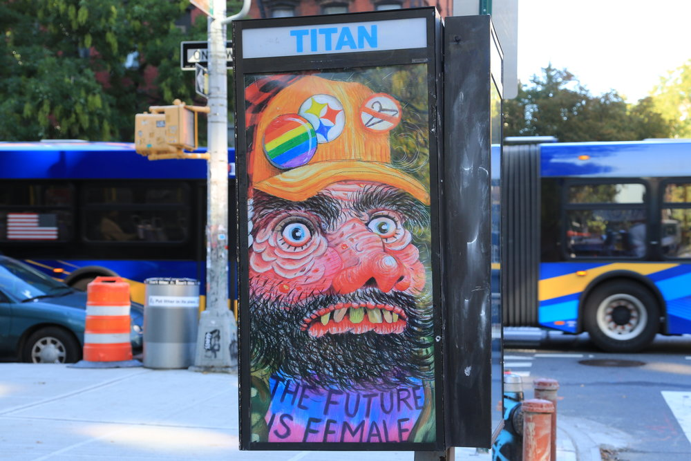 Feminist Mountain Man by Rebecca Morgan. Photo by Luna Park.