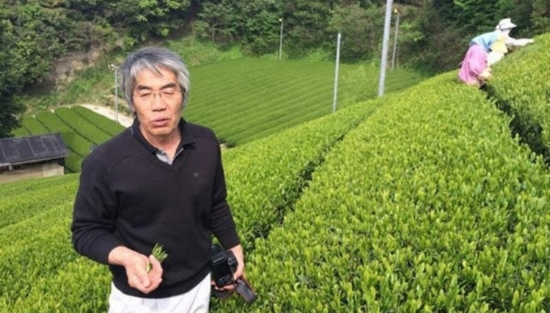 Matsushita san, producer of our Sencha Fukamushi and Genmaicha.