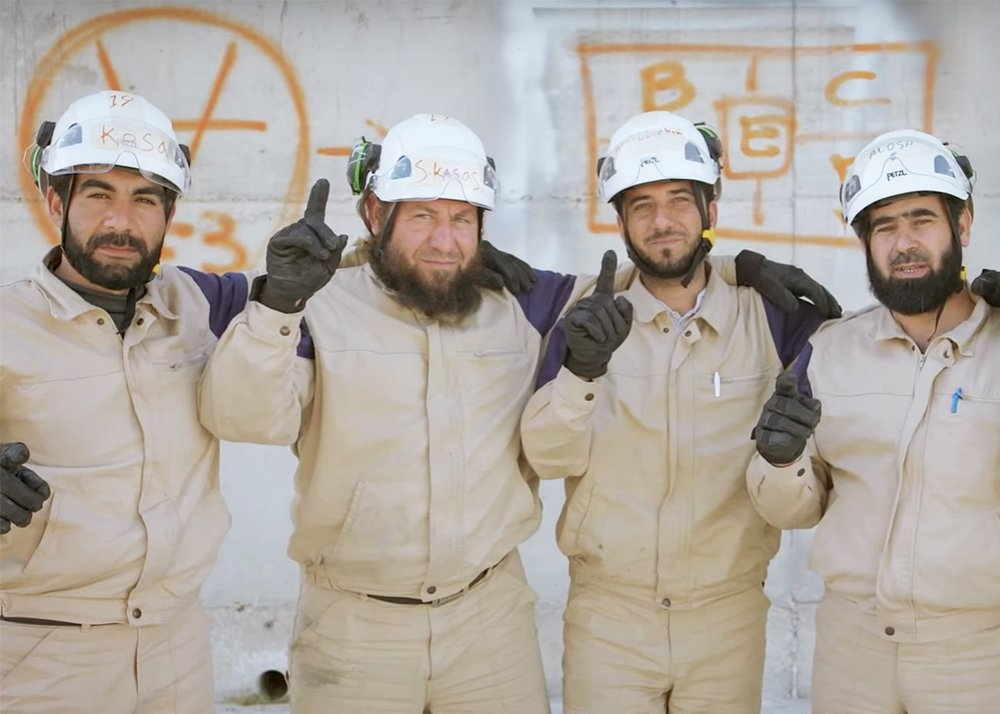The White Helmets  Syria s First Responders — GROUNDS a3cb8641a