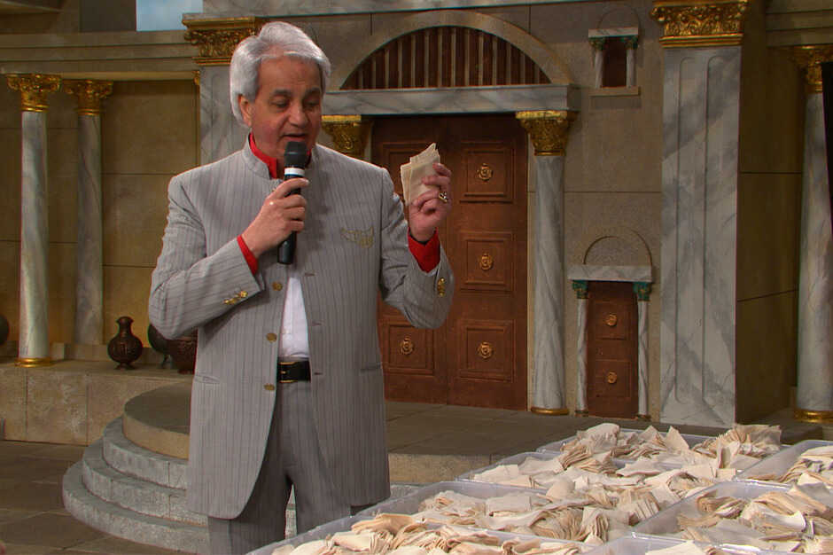 Benny Hinn's prayer cloths