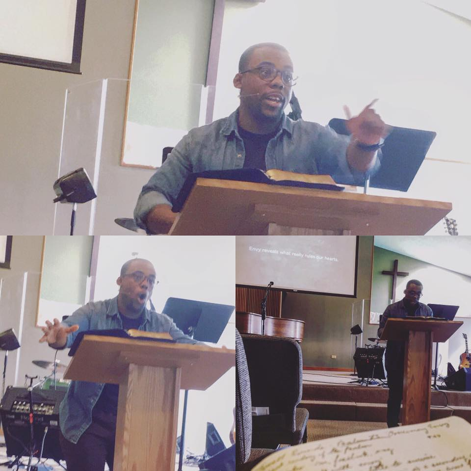 Travell Rounds preaching at Redeemer Fellowship.  Listen here .