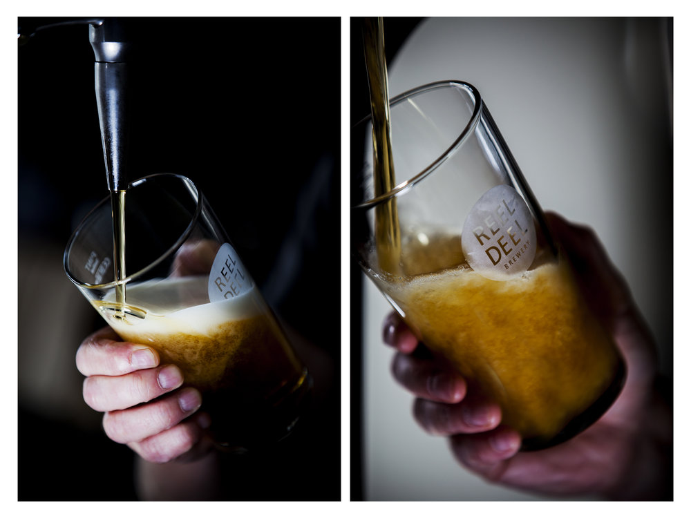 Reel Deel Brewery for RTÉ