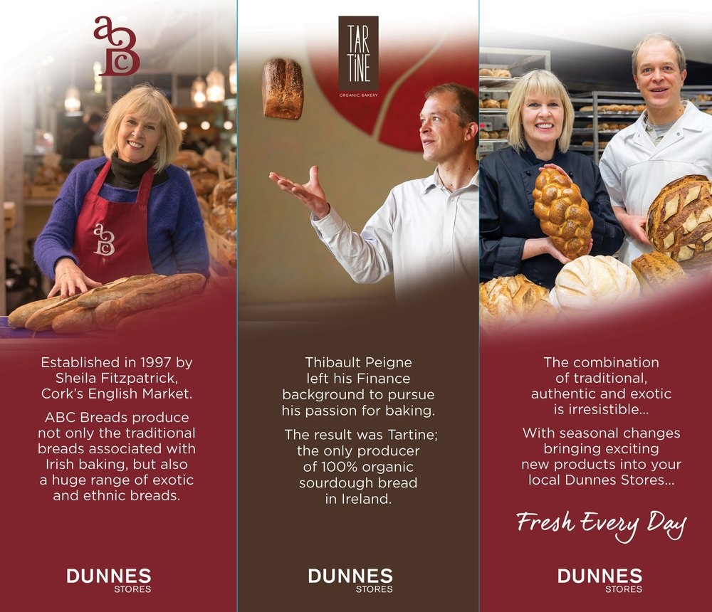 In-store promotional photography for Dunnes Stores