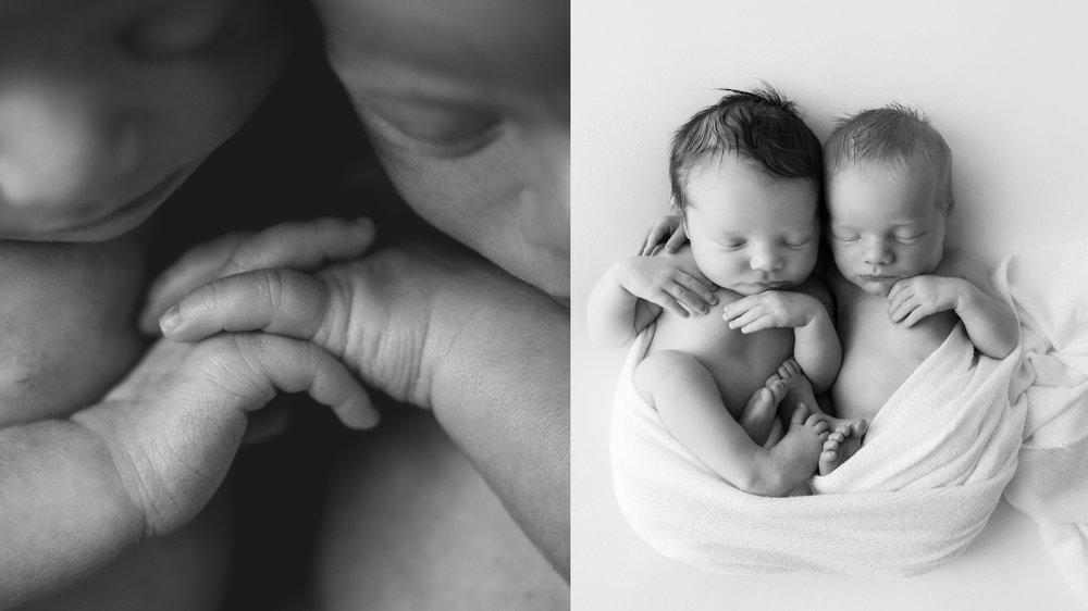 newborn twins photos
