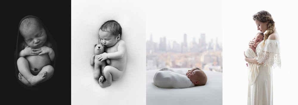 artistic newborn photography in NYC, Lola Melani creates fine-art newborn baby and family portraits. Call out studio for more details