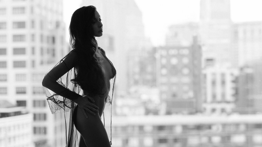 NYC boudoir photographer