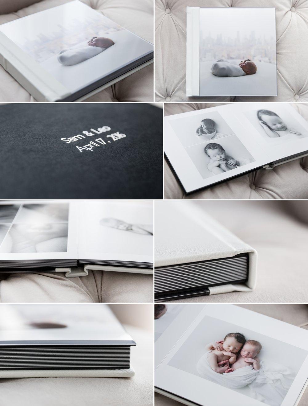 newborn baby album