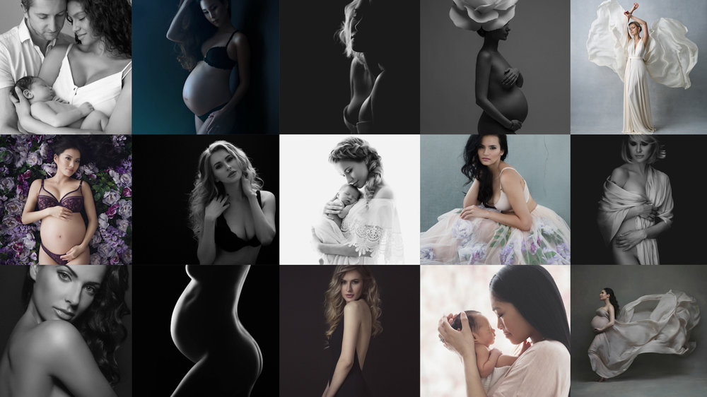 Beautiful portraits by Lola Melani Photography - premier maternity and newborn photographer in New York, NYC pregnancy photography