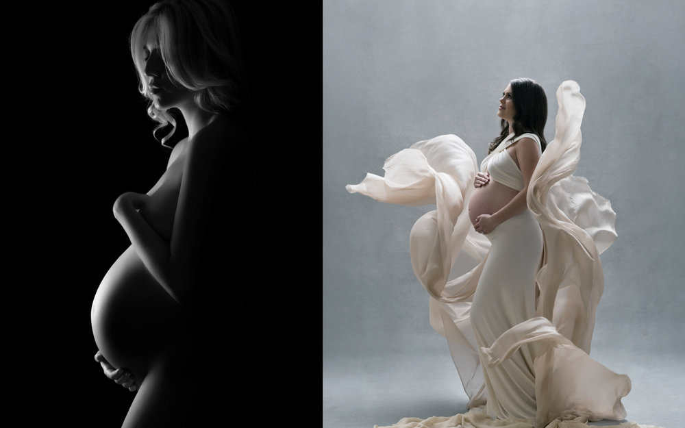 Stunning pregnancy photography