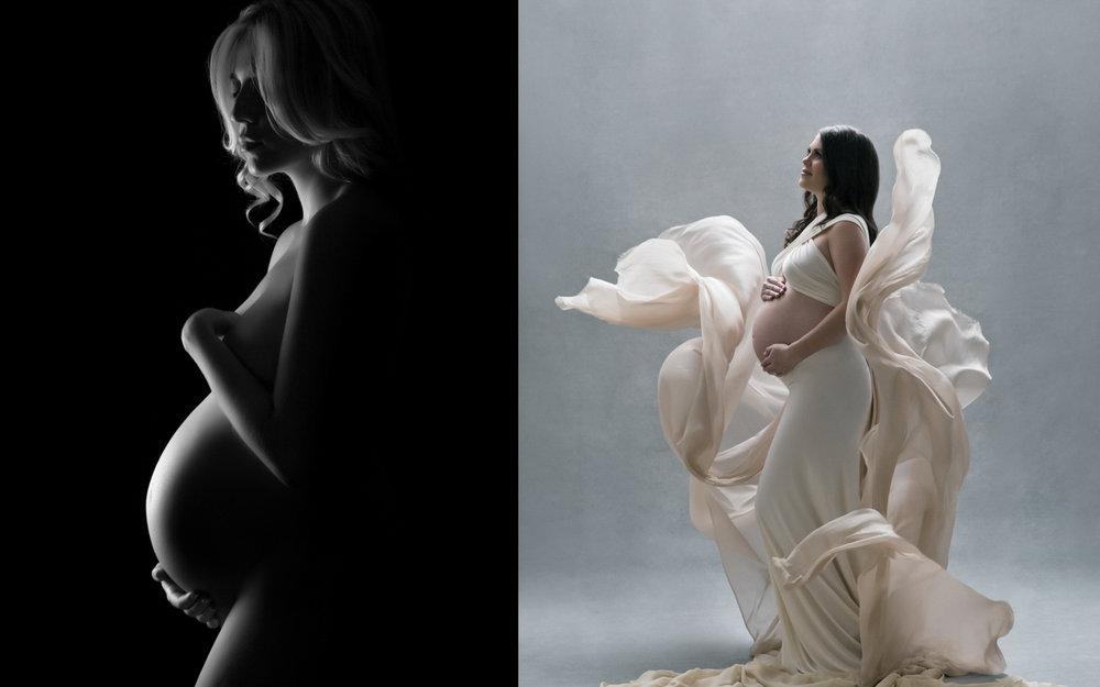 Stunning pregnancy photography