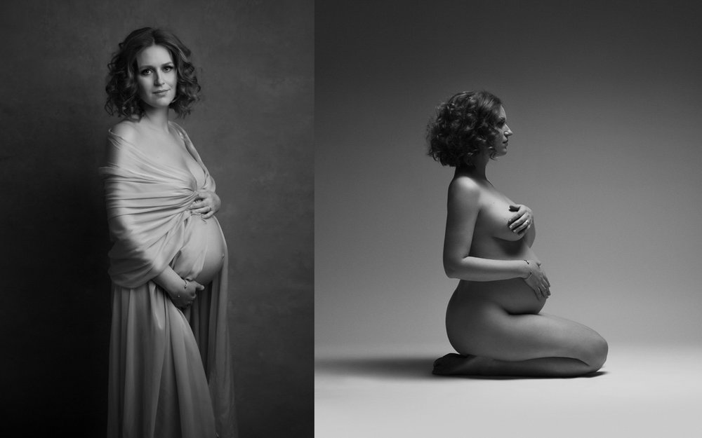 NYC fine-art maternity photography