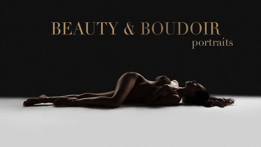 Editorial boudoir photography, fine-art nude portraits by Lola Melani. Luxury boudoir studio in NYC