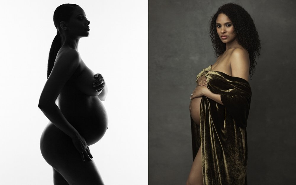 fine-art maternity photos in NY