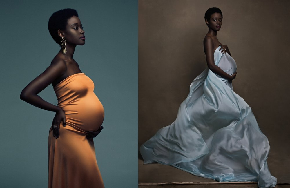 pregnancy portraits by Lola Melani