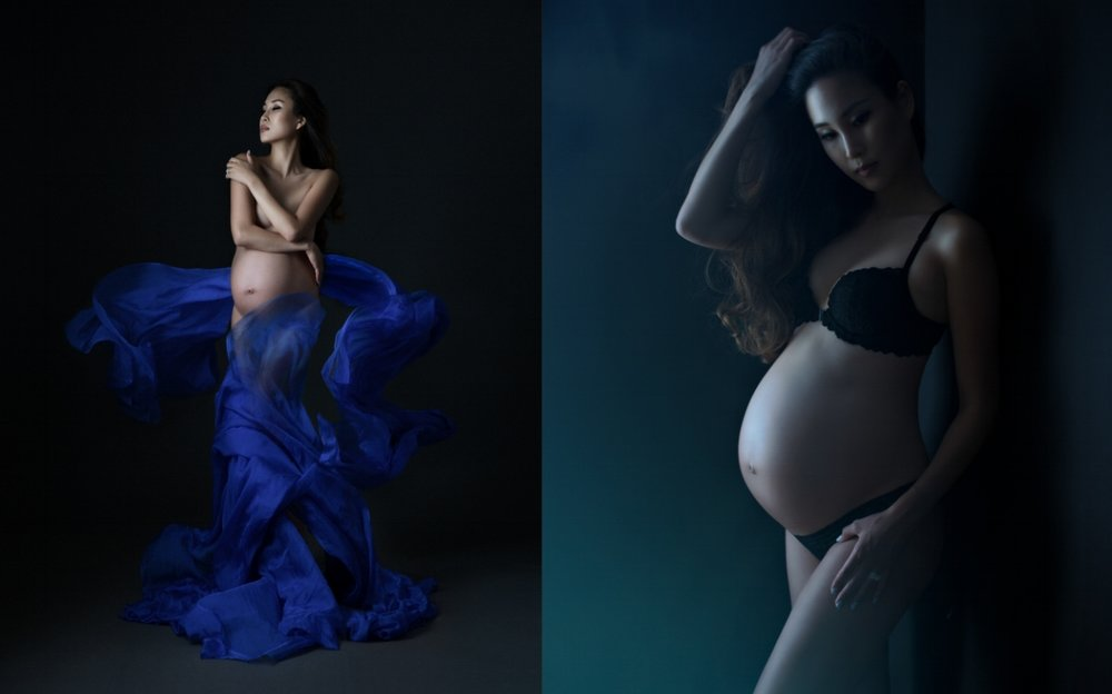 artistic maternity photography NYC