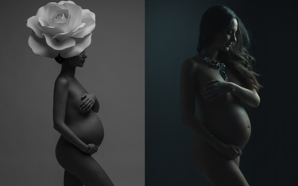 fine-art pregnancy photos