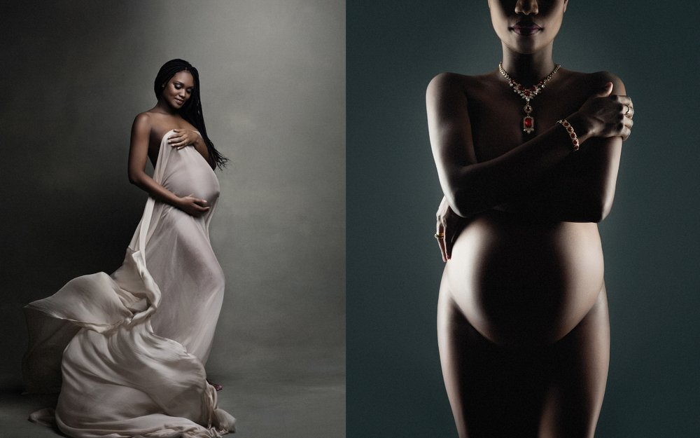 Breathtaking maternity photography