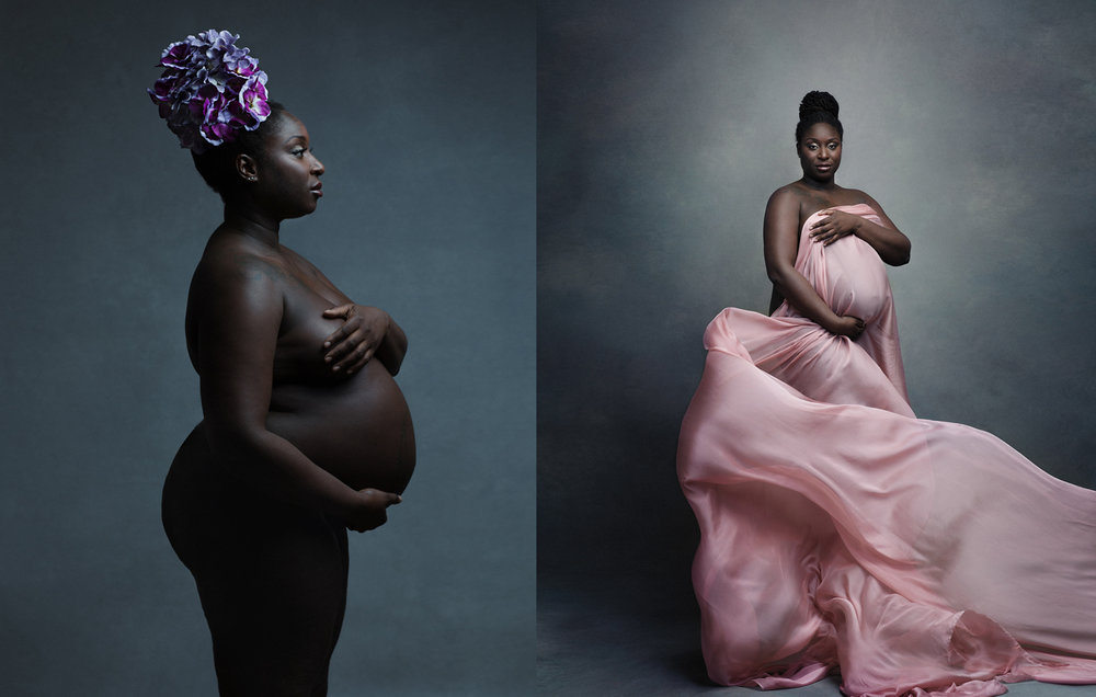 fine-art pregnancy portraits