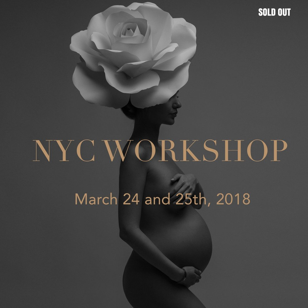 Lola Melani Workshop. Maternity photography workshops
