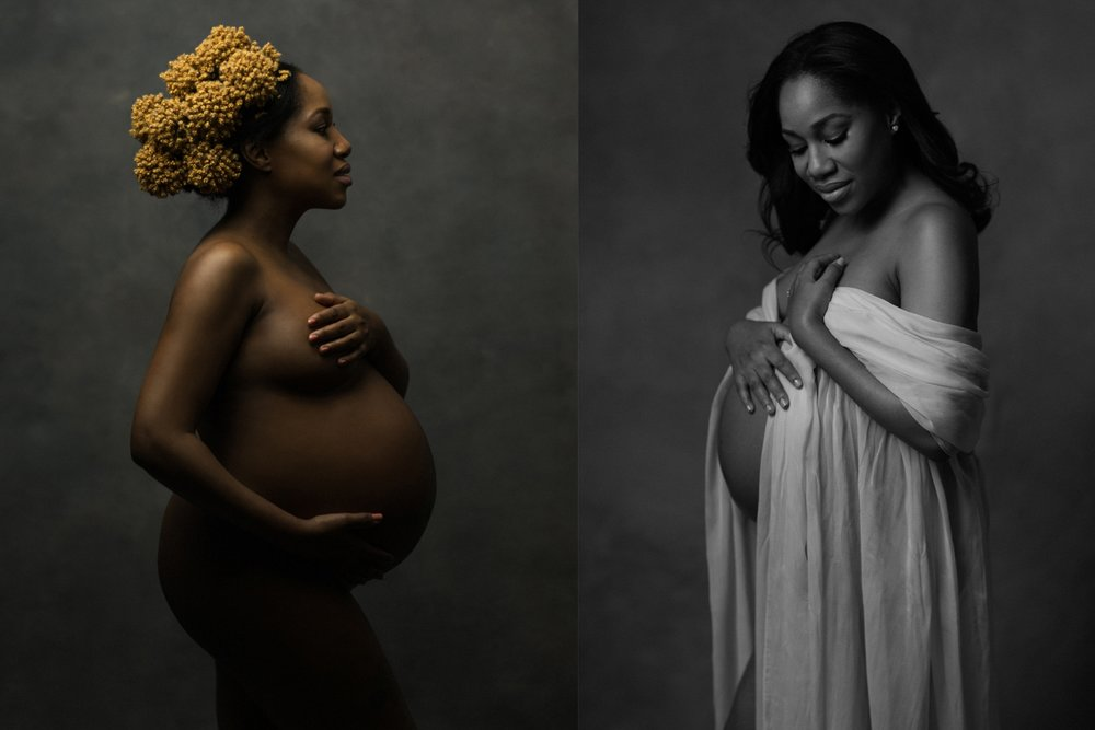 iconic maternity portraits
