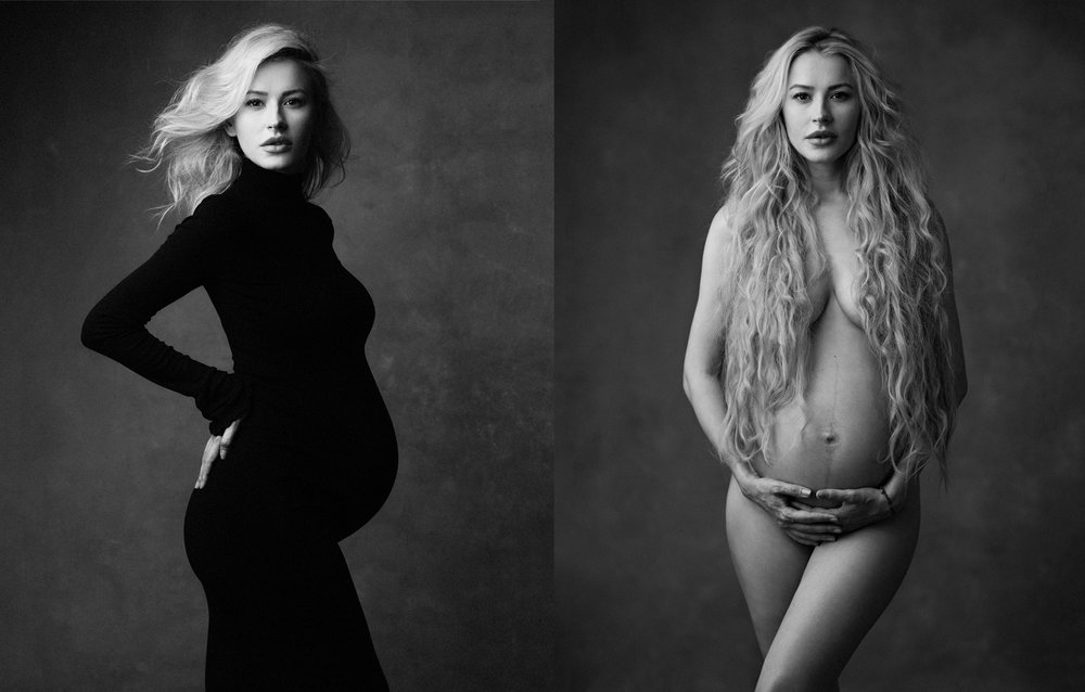 beautiful pregnancy portraits