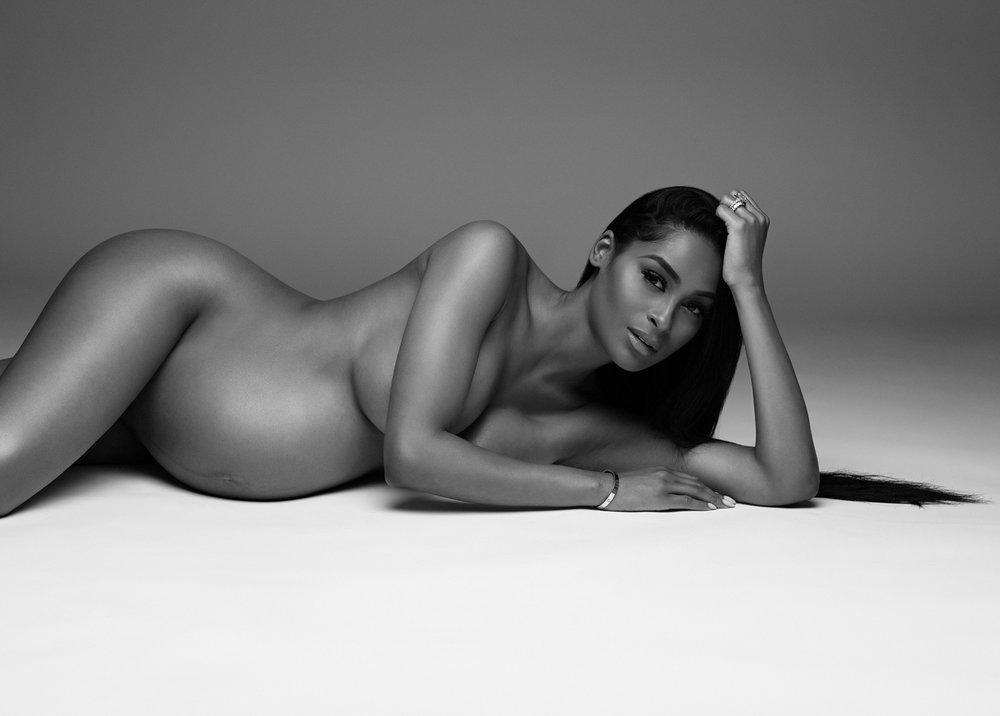 NYC nude maternity photos