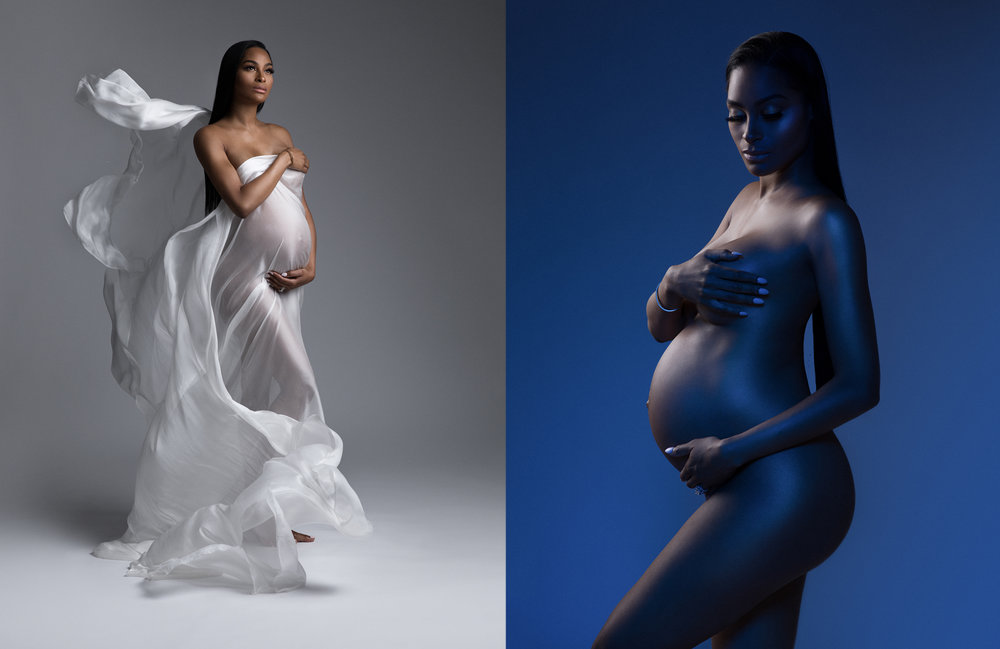 celebrity maternity photography