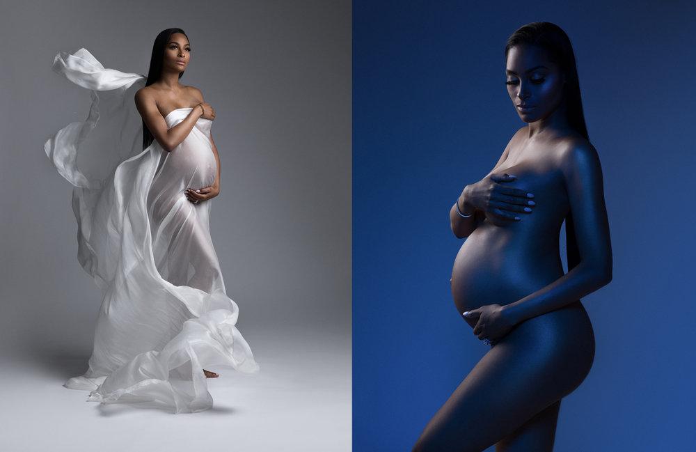 celebrity maternity photography