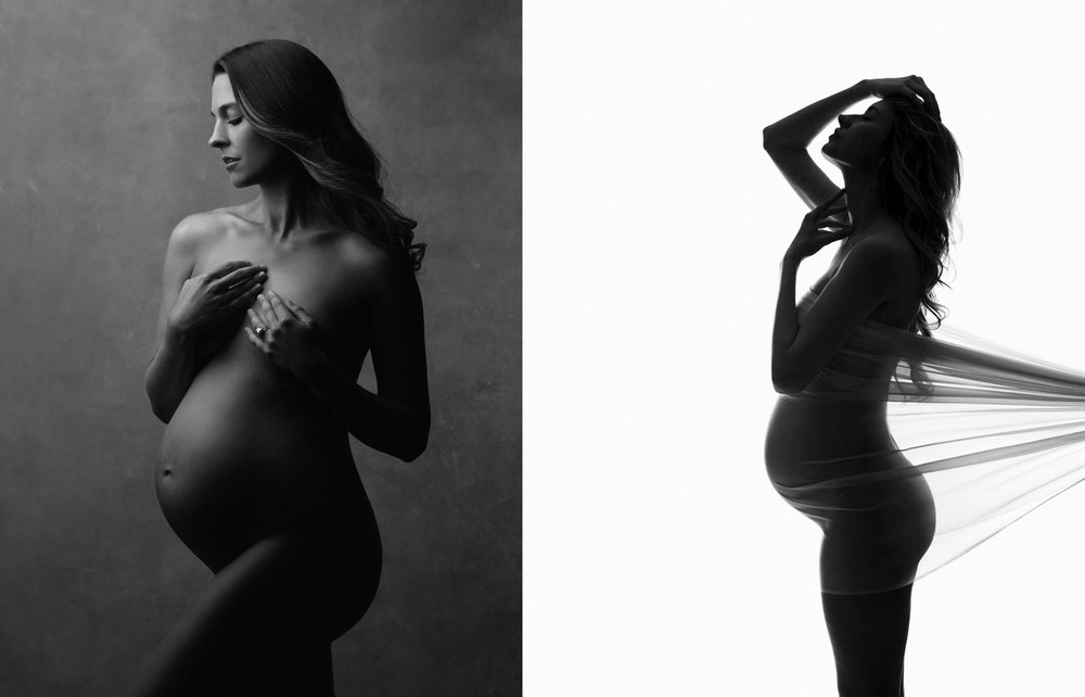 artistic nude pregnancy photography