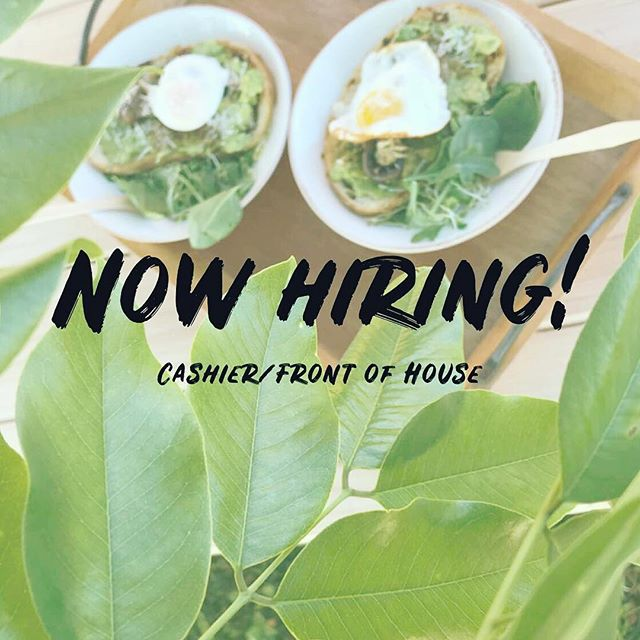 WE'RE HIRING at @farmtobarncafe !! Looking for 1 more person to work as a cashier/front of house. This is a part time position with 15-20 hrs per week...must have availability Tuesday-Saturday (opportunity to work Sunday Brunch as well)! Please email resume to farmtobarnhaleiwa@gmail.com