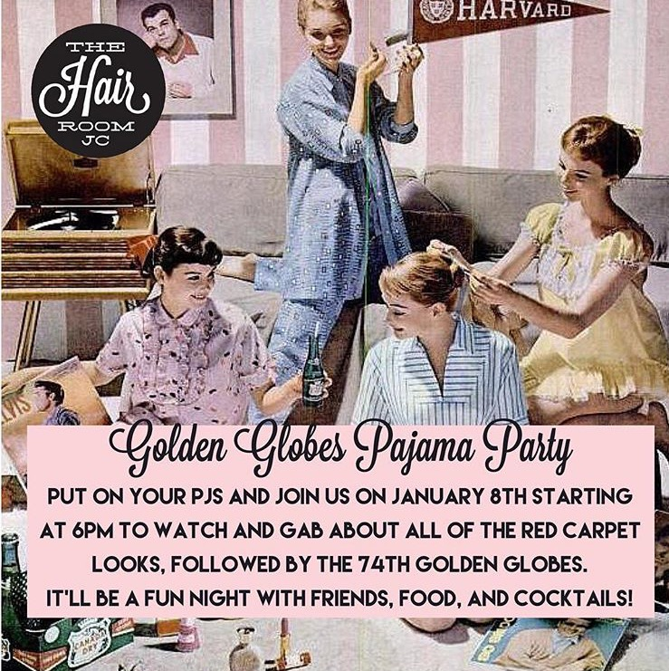 Golden Globes Pajama Party