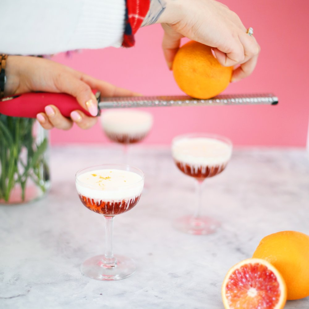 Easy Negroni Floats