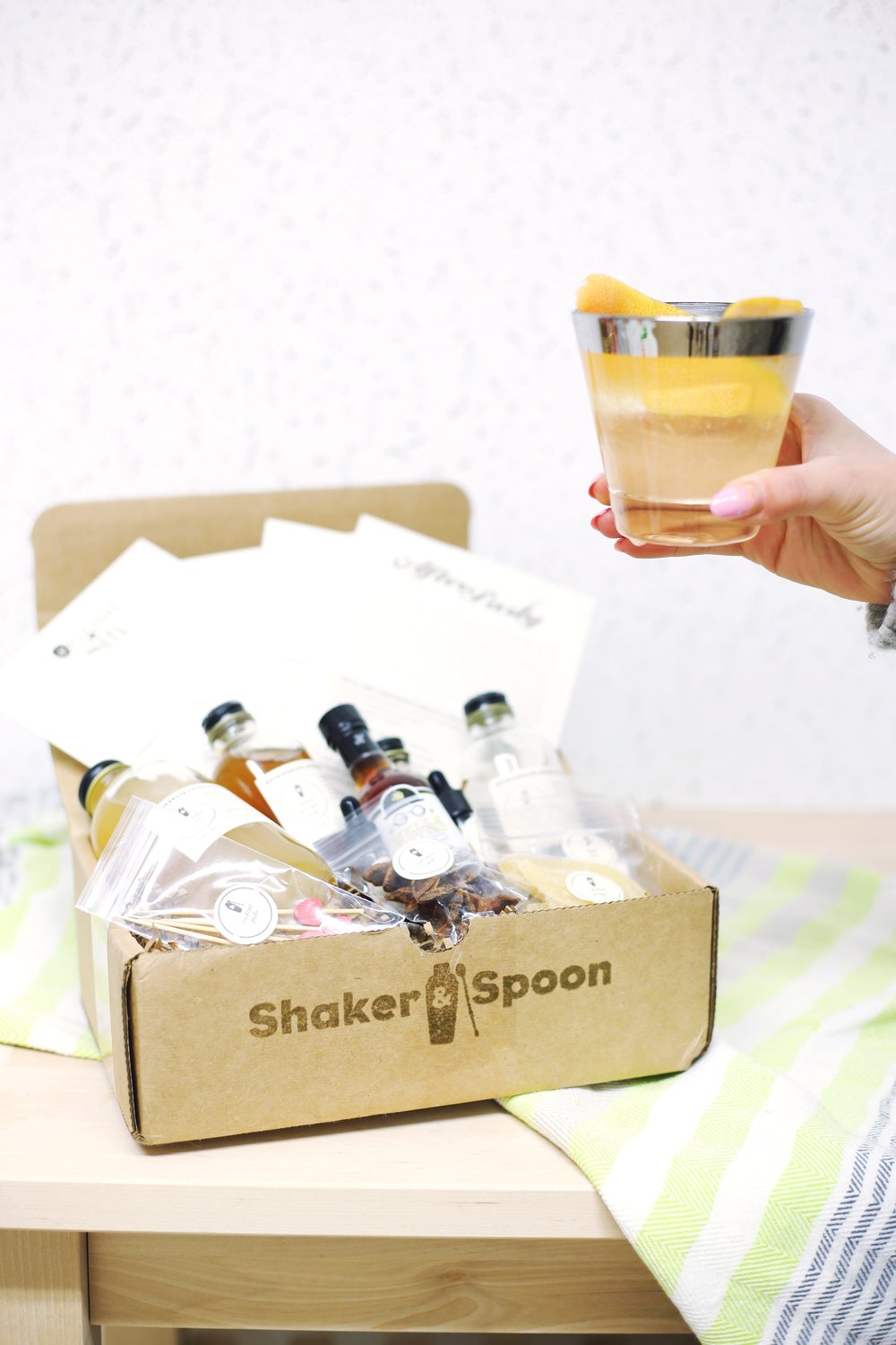 Giveaway with Shaker and Spoon