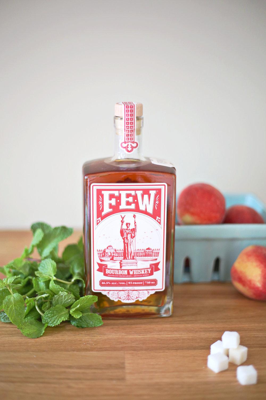 Peach Mint Julep (click through for recipe)
