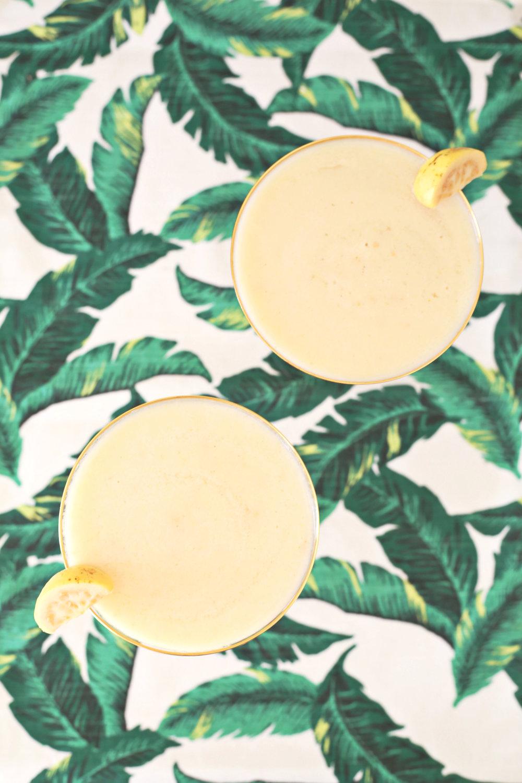 Frozen Coconut Guava Daiquiris